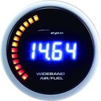 DEPO óra, műszer 52mm - Benzin-levegő keverék, AFR WIDEBAND